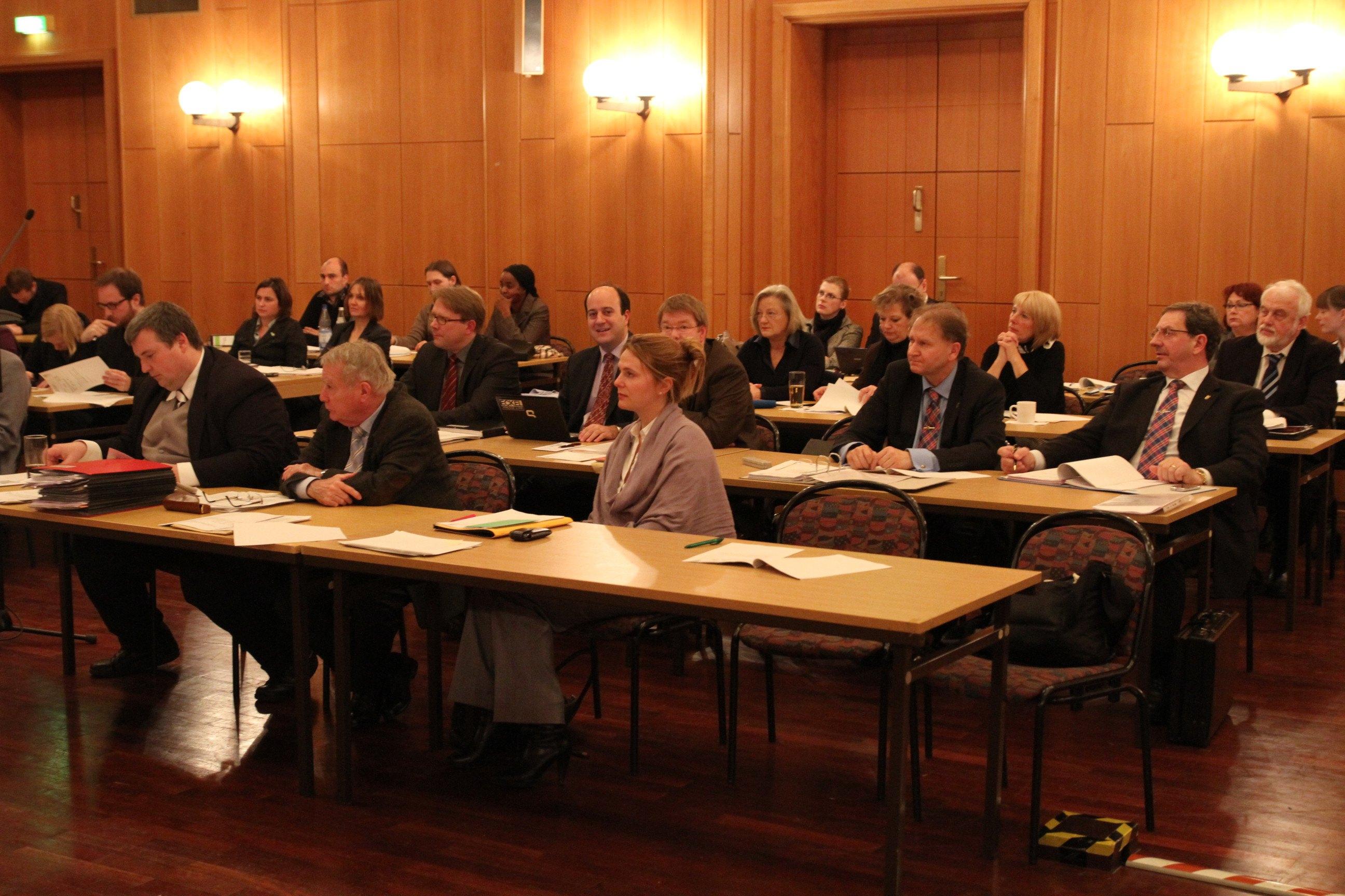 Mitglieder der Fraktion im Plenarsaal